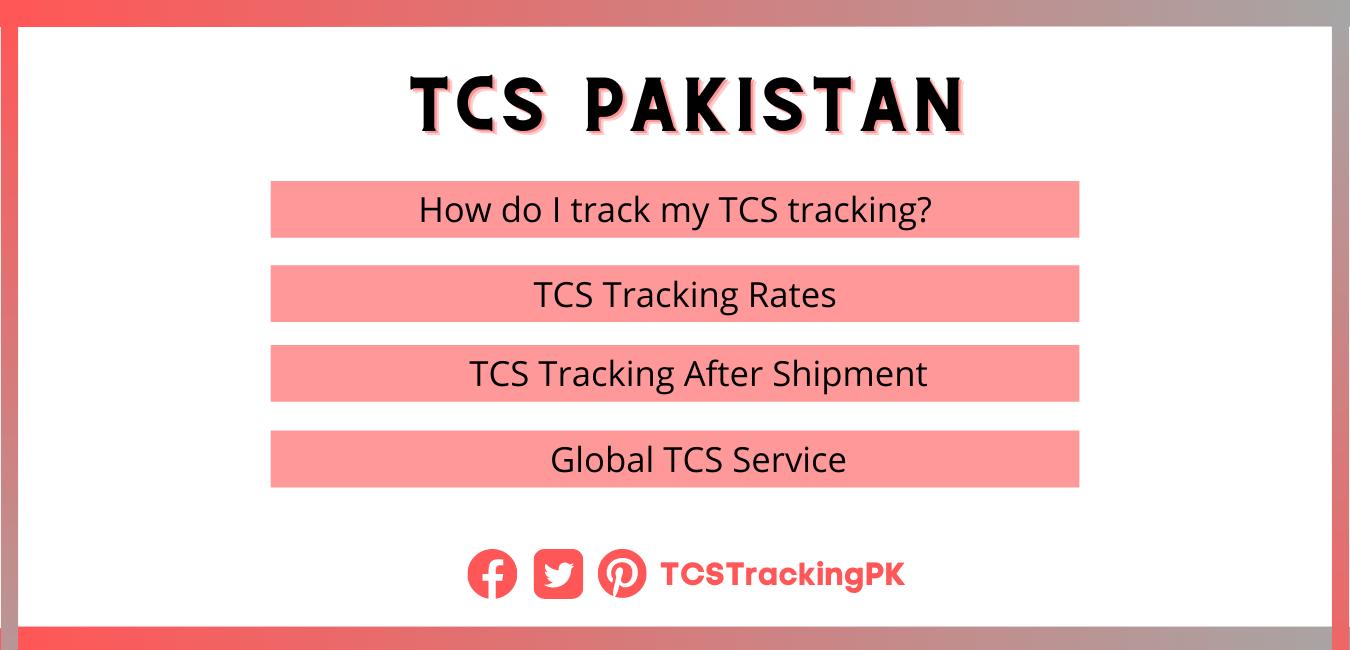 tcs tracking