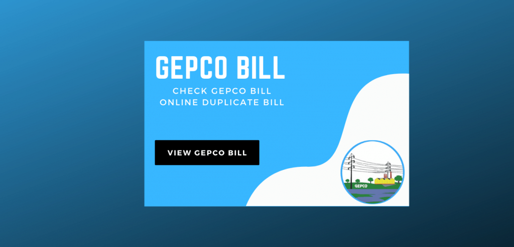 GEPCO Bill