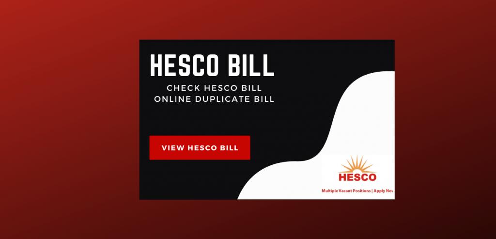 HESCO Bill