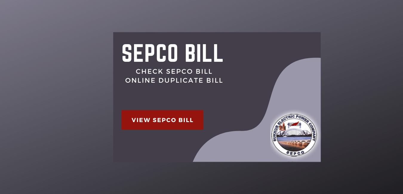 SEPCO Bill